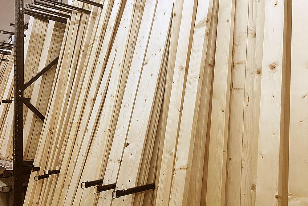 ホームセンターの木材ってどうよ
