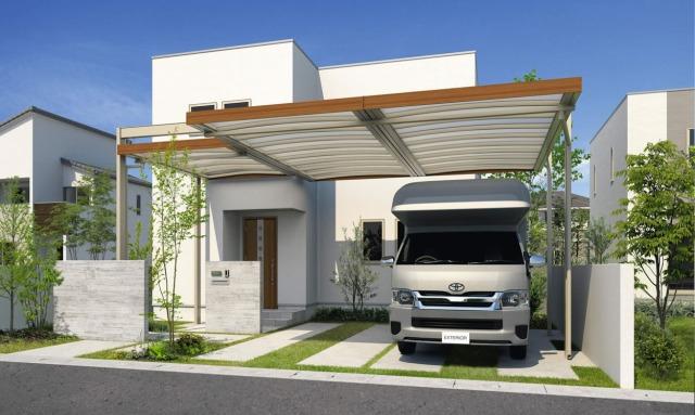 カーポートは家とお庭をトータルに考えてデザインを決める