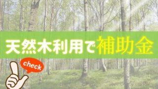 天然木を利用したフェンス・外構工事に補助金が出ます
