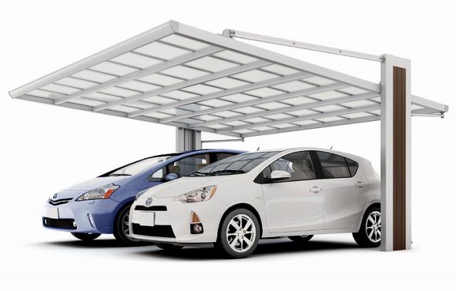 次に、よく見かける透明の屋根材についてです