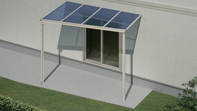 フラット屋根は斜めに加工できることが多い
