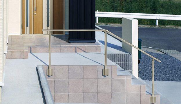 階段の安全対策には手すりが最善・最安です