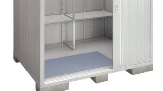 物置の耐久性を上げるためには、床にコンパネ1枚敷く