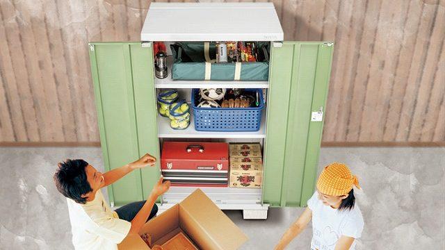 物置を使って家の中のいらないものを整理【断捨離ステップ】