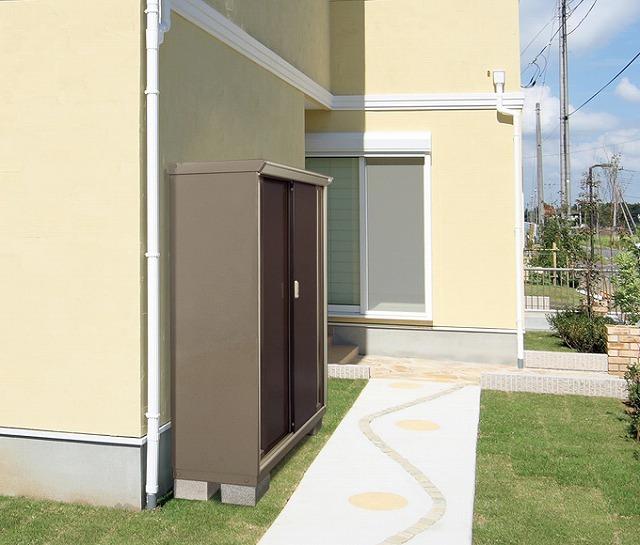 物置を家の外壁ギリギリに設置して敷地を有効活用したいなら