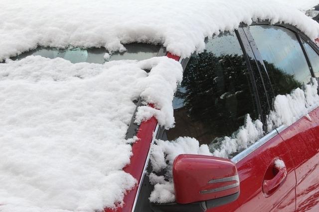 霜は「降りる」のは本当だった。