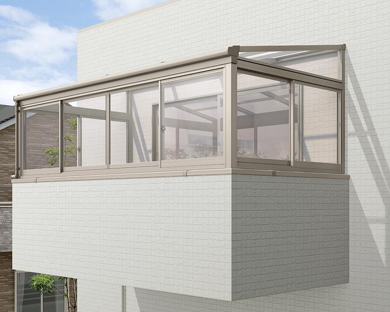 (サンルーム)LIXIL サニージュF型 2階設置用の設置費用