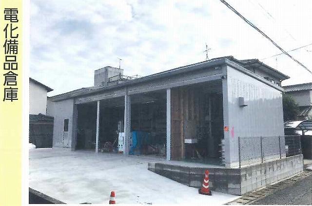 「電化製品倉庫」としてのイナバ倉庫の実例