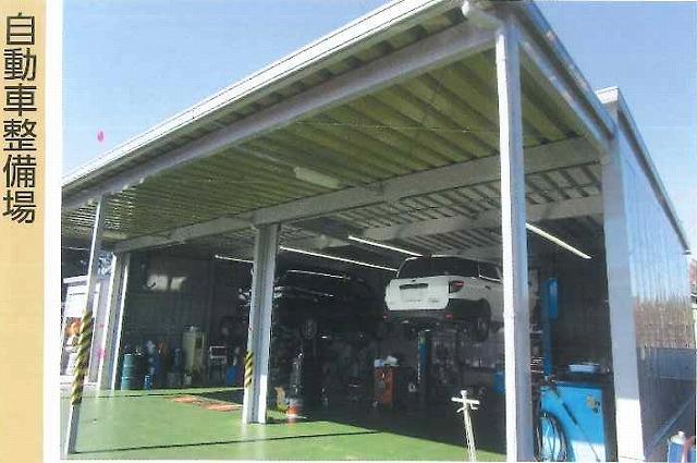 「自動車整備場」としてのイナバ倉庫の実例