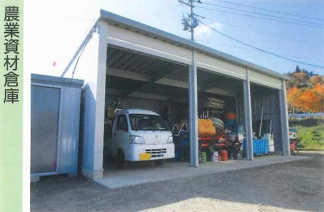 「農業資材倉庫」としてのイナバ倉庫の実例