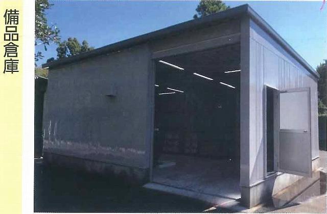 「備品倉庫」としてのイナバ倉庫の実例
