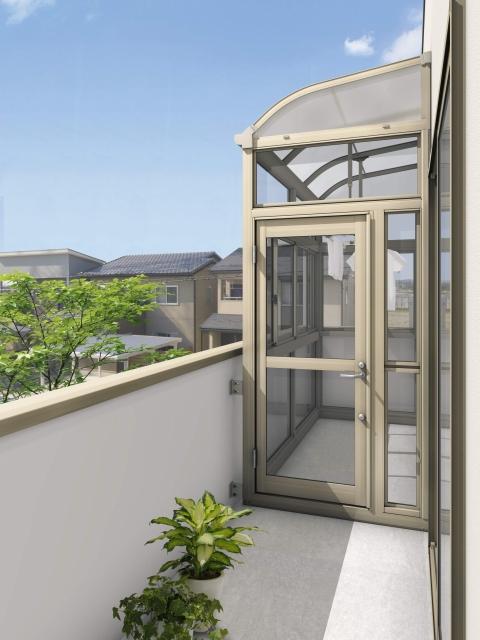 2階に後付けするサンルームは理想の条件・立地