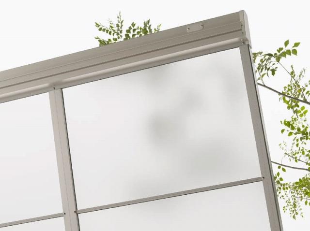 紫外線対策が実施済みの屋根で洗濯物の日焼け・色褪せが防げます
