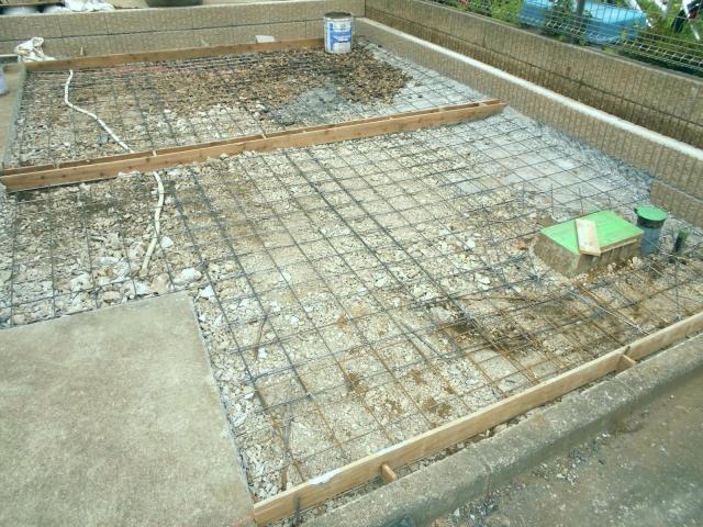 車1台分/10〜20m2の土間コンクリート工事の相場