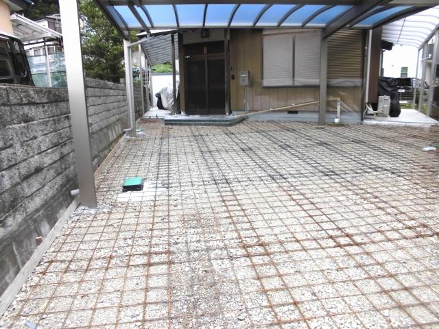 車2台分/20〜30m2の土間コンクリートの工事相場