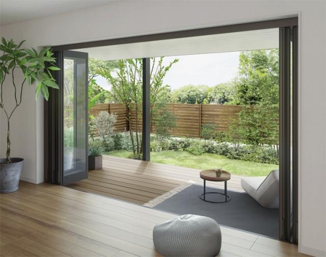 ハウスメーカーの外壁保証・住宅保証が足かせになってテラスを付けられない