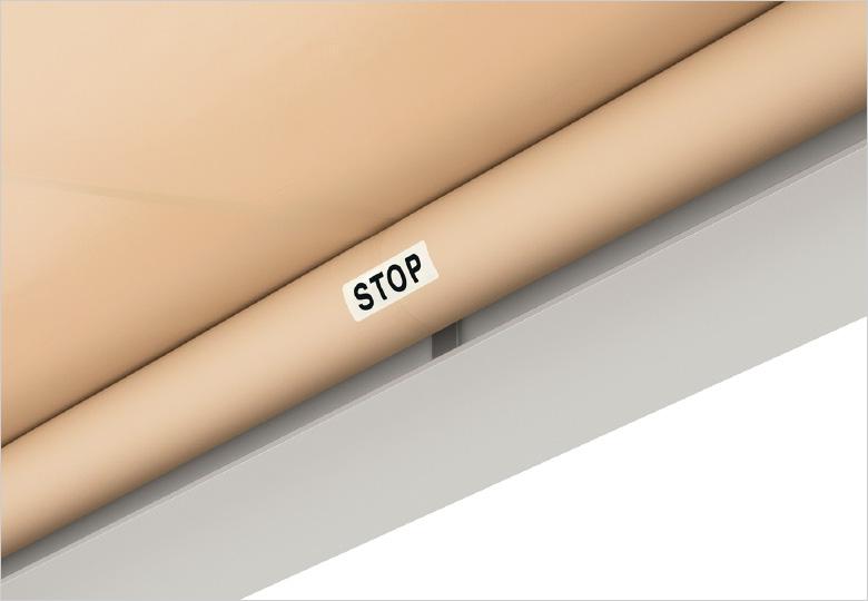 良いもの長く使うために「ストップシール」がパラソリアには標準装備