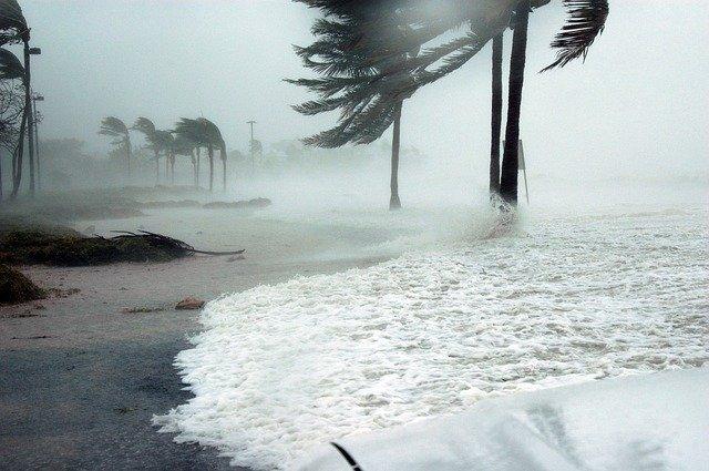 10月 台風で過去最高益