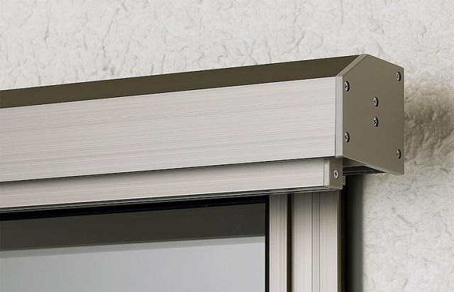スタイルシェードの生地がすっきり納まる収納ボックス