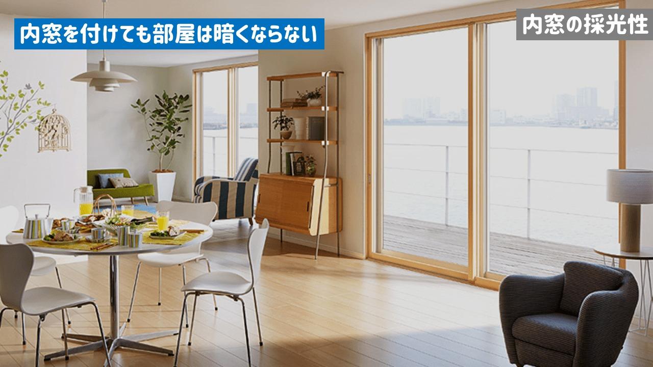 内窓の採光性