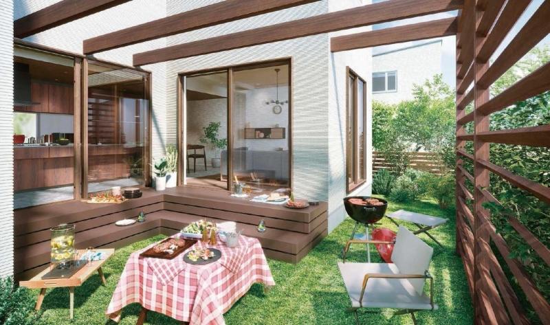 「リウッドデッキ200」は日本の住宅にマッチしたサイズ
