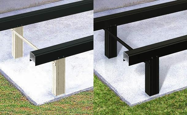 個人的には、床下の柱は「ブラック」がおすすめ