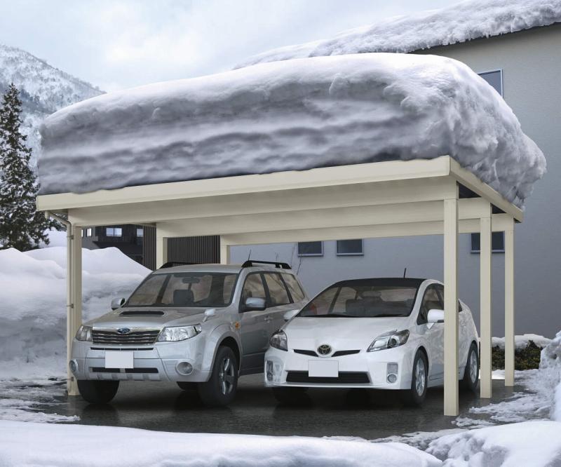 おすすめカーポート3:強風・積雪に強いカーポート